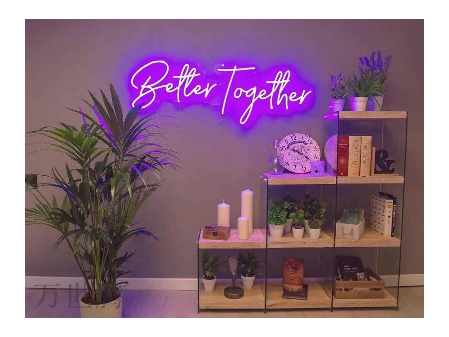 霓虹灯在室内装修怎么用 ?
