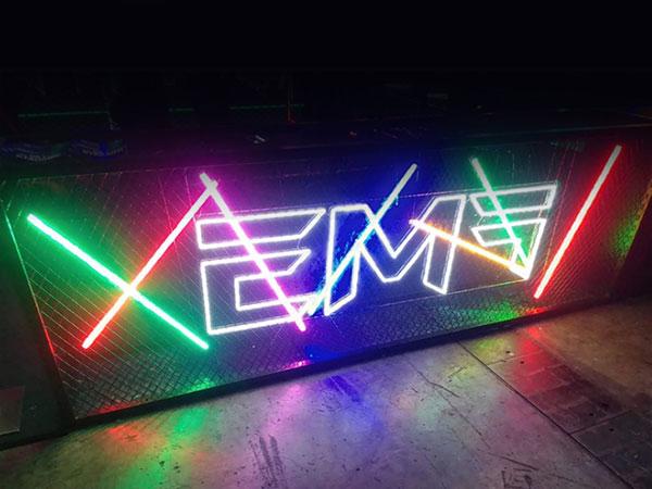 酒吧霓虹灯广告牌LED发光灯牌柔性广告字霓虹灯招牌字母定制造型